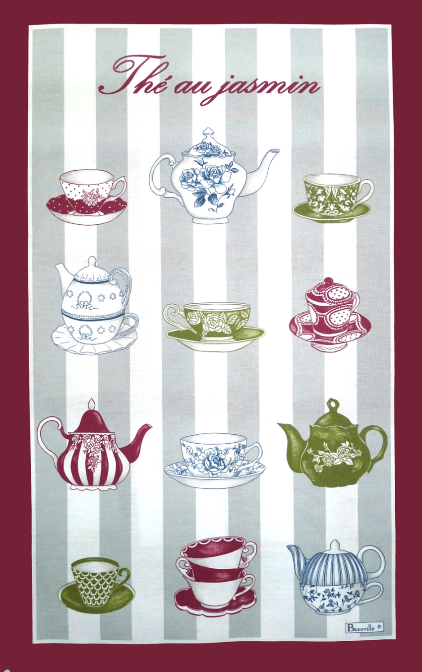 Torchon thé au jasmin