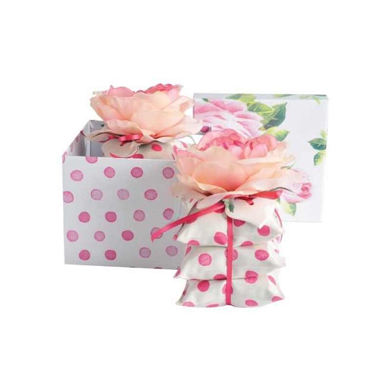 coffret-cadeau-pyramide-rose-bonbon